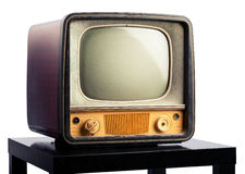 TV retra Fotografía de archivo libre de regalías