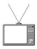 TV retra Fotos de archivo
