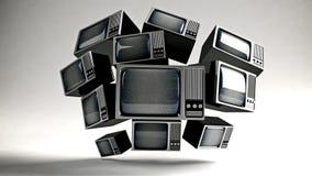 TV retra con parásitos atmosféricos