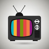 tv retro design Royalty Free Stock Photography