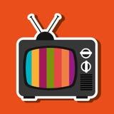 tv retro design Stock Images