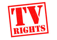 TV RIGHTS Stock Images