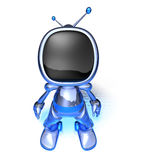 TV Robot Royalty Free Stock Photos