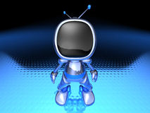 TV Robot Royalty Free Stock Image