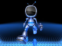 TV Robot Stock Photography