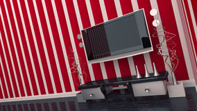 TV room interior Stock Photography