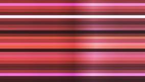 TV-sändning som blinkar horisontalhigh techstänger, mång- färg, abstrakt begrepp, Loopable, 4K vektor illustrationer