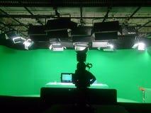 TV-sändningtelevision Arkivbild