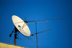 Free TV Satellite Dish Royalty Free Stock Images - 1937959