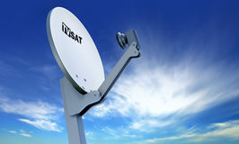 TV satellite dish Stock Photography
