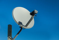 Tv Satellite Dish Royalty Free Stock Photos