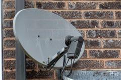 TV satellite disk royalty free stock photo
