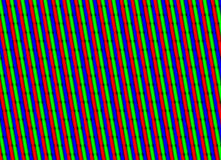 TV screen close up Royalty Free Stock Images