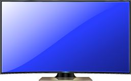 TV screen Royalty Free Stock Image