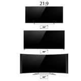 TV screen lcd monitor template electronic device technology digital device display vector illustration. Royalty Free Stock Photos