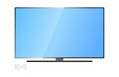 TV screen lcd monitor template electronic device technology digital size diagonal display and video modern plasma home Royalty Free Stock Photos