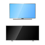 TV screen lcd monitor template electronic device technology digital size diagonal display and video modern plasma home Stock Photography