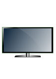 TV screen Royalty Free Stock Photography