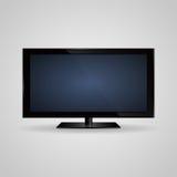 TV screen lcd, plasma realistic vector illustration Royalty Free Stock Photo