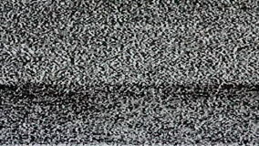 TV screen no signal, static noise and TV static fill the screen (Loop). HD. The TV screen no signal, static noise and TV static fill the screen (Loop). HD stock video footage