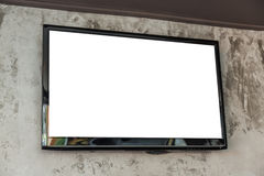 Free TV Screen On Wall Royalty Free Stock Image - 57003406