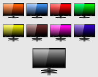 TV screen Royalty Free Stock Photo
