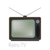 TV screen vintage monitor template electronic device technology digital size diagonal display and video retro plasma Stock Photo