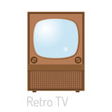 TV screen vintage monitor template electronic device technology digital size diagonal display and video retro plasma Royalty Free Stock Image