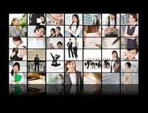 Business concept wall Royalty Free Stock Images