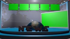 TV set in 3d Stock Photo