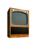 Tv set old retro model Royalty Free Stock Photo