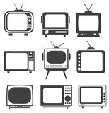 Tv set Stock Image