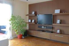 TV shelf Royalty Free Stock Photos