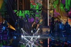 TV Show Studio, Music, Success, Fame, Teen Stock Images