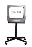 Tv on stand Stock Images