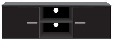 TV Stand Storage Console Stock Image