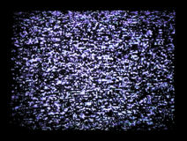 Tv static. Close up of tv static Royalty Free Stock Photos