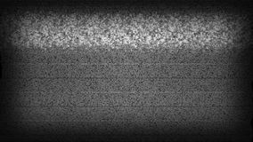 TV Static Noise. High definition animated loop of television static rolling down the screen stock footage