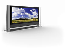 TV Stubblefield πλάσματος Στοκ Εικόνες