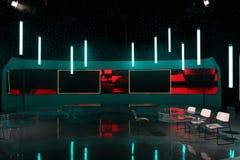 TV studio zdjęcie stock