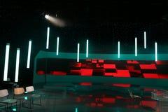 TV studio obraz royalty free