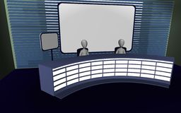 Tv studio Royalty Free Stock Image