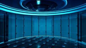 TV Studio obrazy royalty free