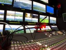 TV-studio Royalty-vrije Stock Fotografie