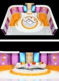 Tv studio design Royalty Free Stock Photo