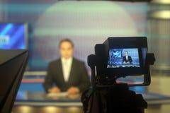 TV studio Royalty Free Stock Photo