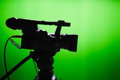 TV studio Royalty Free Stock Photography