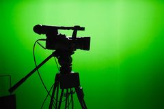 TV studio Royalty Free Stock Image