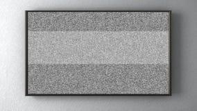 TV sur le mur illustration stock