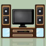 TV table Royalty Free Stock Image